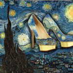 Famous Paintings Turned Into High Heeled Shoes