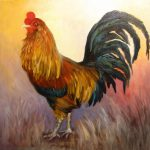 Fanciful Rooster Barbara Haviland Animals
