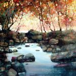 Feng Amazing Watercolor Landscapes Painting