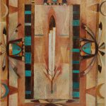 Fine Art Native American Paintings Artwork Din Navajo Tony