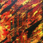 Fire Forest Painting William