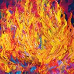 Fire Passion Here New Beginnings Painting Eloise