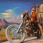 First David Commemorative Paintings Sturgis Rally Cyril Huze Post