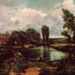 Flatford Mill Lock Stour John Constable