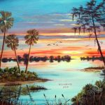 Florida Sunrise Sunset Paintings Relaxing Music