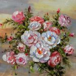 Flowers Paintings Oil Painting Canvas Art