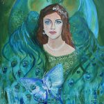 Forest Goddess Painting Alma