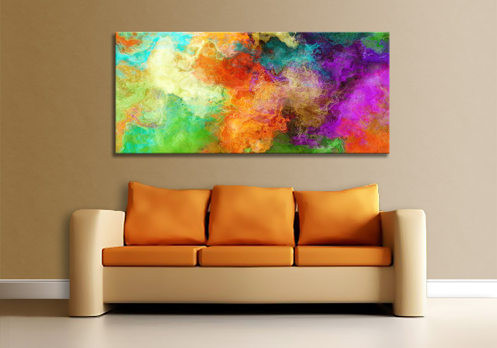 Framed Modern Abstract Wall Art Oil Canvas Painting Sale Paintings