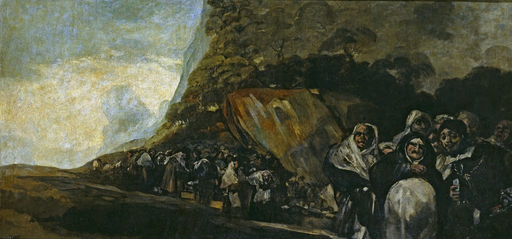 Francisco Goya Enigma Black Paintings Rebecca Bender