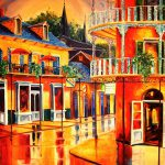 French Quarter Painting Diane