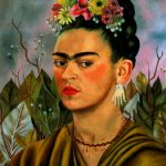 Frida Kahlo Flowers