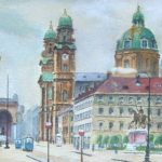 Funny Adolf Hitler Paintings Those Rejected Viennese Academy Fine