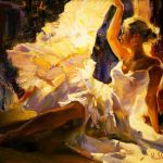 Garmash Angel Painting Anysize Off