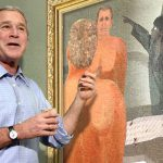 George Bush Debuts New Paintings Dogs Friends Ghost Iraqi Follows