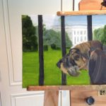 George Bush Dog Paintings Contain Multitudes