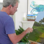 George Dubya Shows Off His New Talent