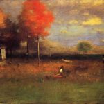 George Inness Indian Summer Painting Best Paintings