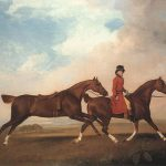 George Stubbs William Anderson Two Saddle Horses Painting Best Paintings
