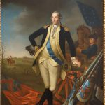 George Washington Unknown Artist After Charles Willson Peale Oil Canvas