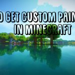 Get Custom Paintings Minecraft
