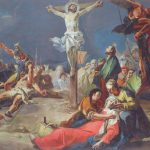Giovanni Battista Tiepolo Crucifixion Painting Print