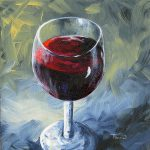 Glass Red Wine Torrie