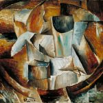 Glass Table Georges Braque