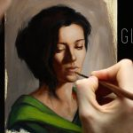 Glazing Oil Painting Techniques Step Demonstration