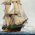 Great Age Sail Painting James