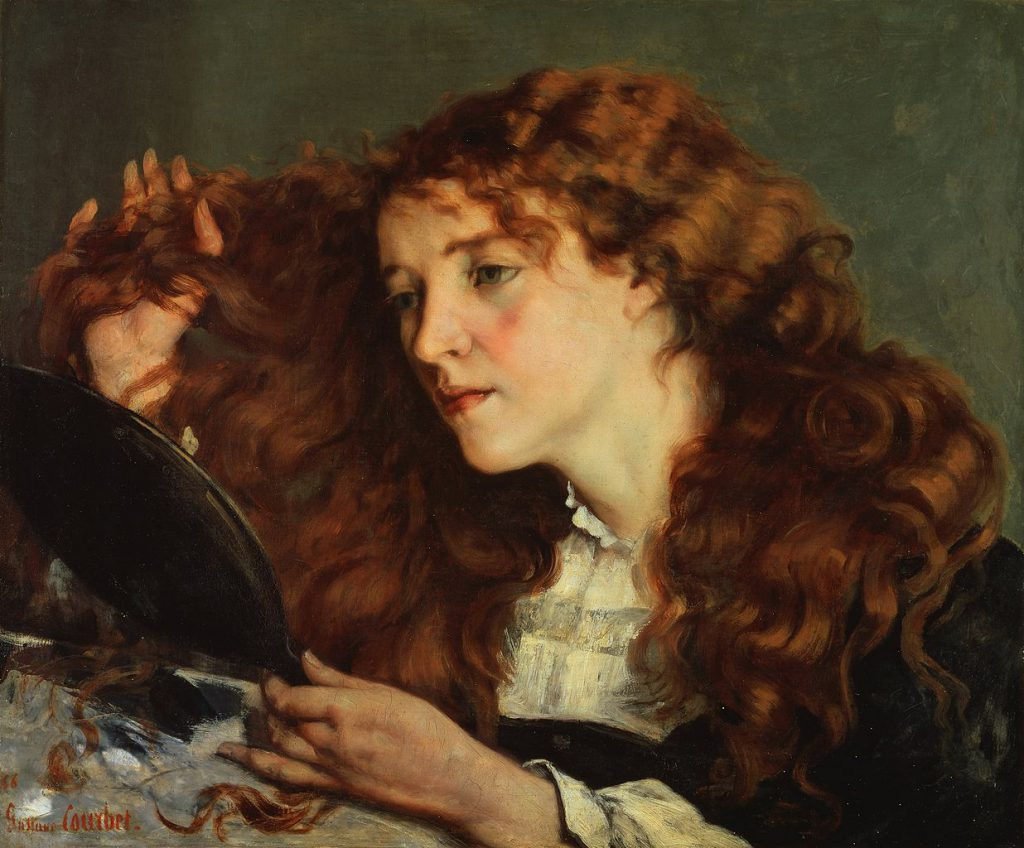 Gustave Courbet Belle Irlandaise Stockholm Wikimedia