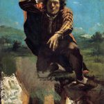 Gustave Courbet Desperate Man Painting Best Paintings