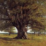 Gustave Courbet Oak Flagey Painting Best Paintings