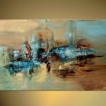 Handmade Abstract Oil Painting Large Wall Art Canvas High Quality