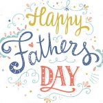 Happy Fathers Day Vector Card Art More Abstract