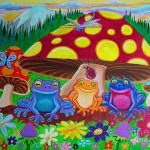 Happy Frog Meadows Painting Nick