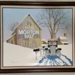 Hargrove Morton Salt Advertising Print Listed
