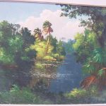 Harold Newton Original Painting Florida Highwayman Rubylane Sold Ruby