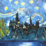 Harry Potter Starry Night Painting Midex