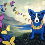 Hawaiian Blues George Rodrigue Sold Art