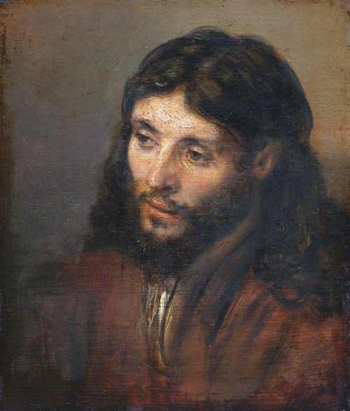 Head Christ Rembrandt
