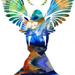 Healing Angel Spiritual Art Painting Sharon