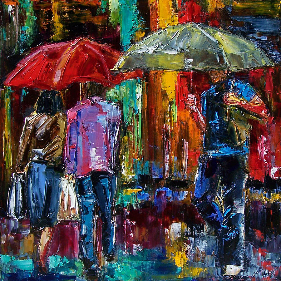 Heavy Rain Painting Debra