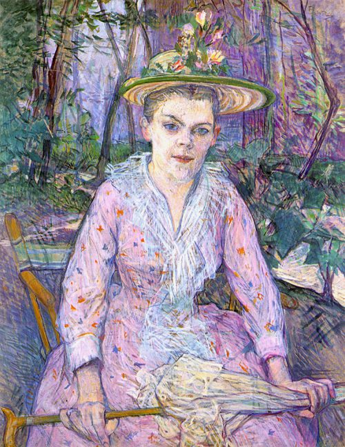 Henri Toulouse Lautrec Woman Umbrella Wikimedia