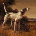 High Quality Hand Painted Animal Oil Painting Hunting