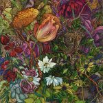 Highly Detailed Paintings Gardens Judy Garfin