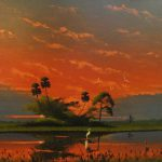 Highwaymen Painting Auction March Rennick Real Estate Auctions