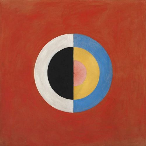 Hilma Klint Abstract Paintings Strange