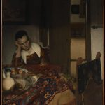 History Blog Archive One Vermeer First Paintings