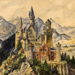 Hitler Art Flowers Fairytale Castles Sells Auction World