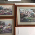 Home Interiors Lee Parkinson Art Print Country Framed Matted Set Sale